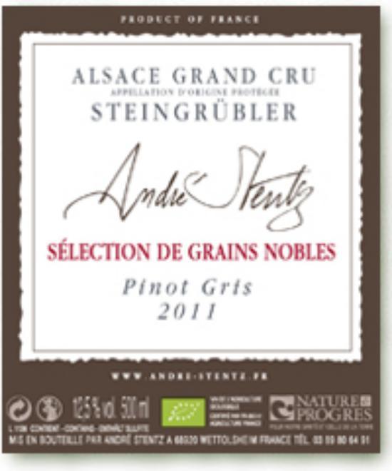 Alsace Grand Cru Steingrübler