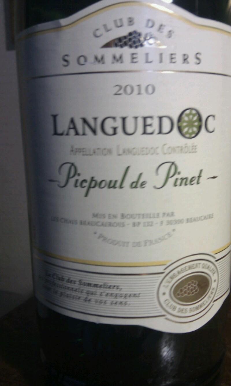 Coteaux du Languedoc Picpoul-de-Pinet