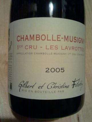 Chambolle-Musigny Premier Cru