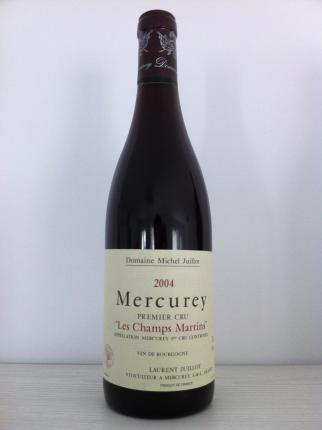 Mercurey Premier Cru  Les Champs Martin