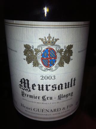 Meursault Premier Cru