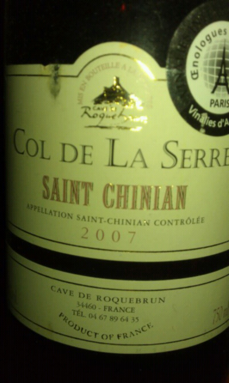 Saint-Chinian Roquebrun