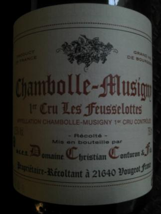 Chambolle-Musigny Premier Cru Les Feusselottes