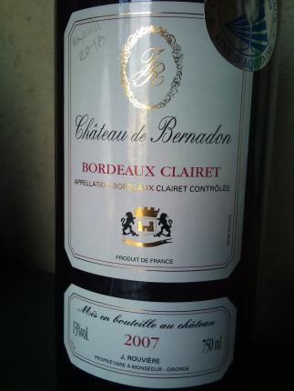 Bordeaux Clairet