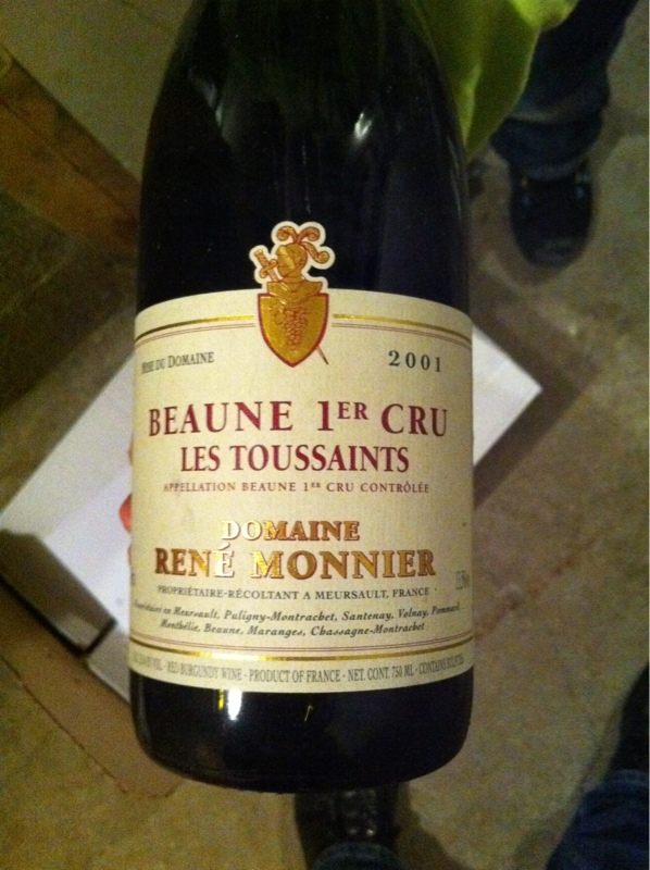 Beaune Premier Cru