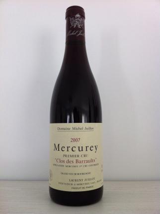 Mercurey Premier Cru  Clos des Barraults