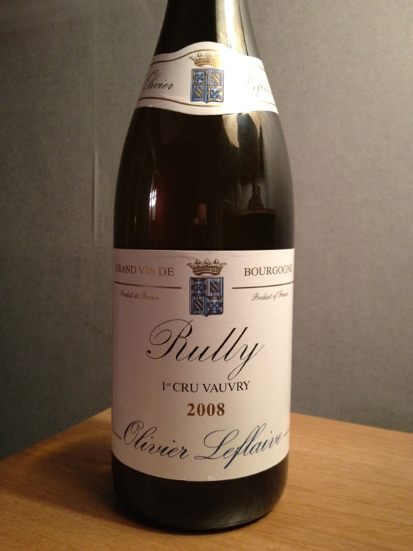 Rully Premier Cru  Vauvray