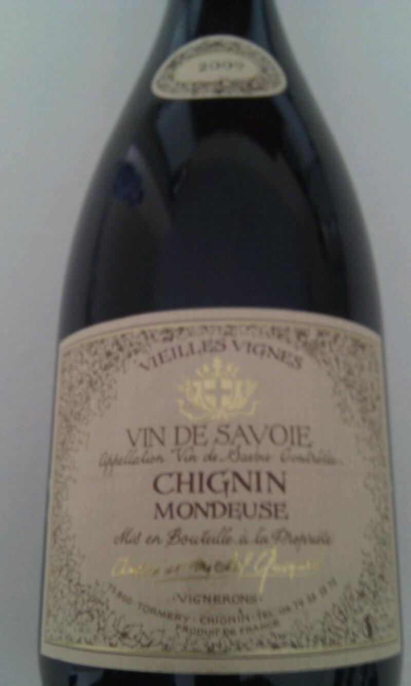 Vin-de-Savoie Chignin