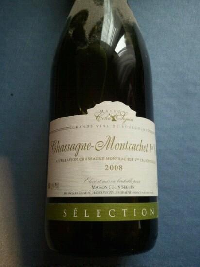Chassagne-montrachet Premier Cru