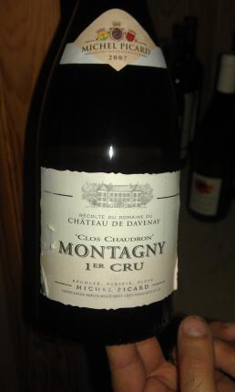 Montagny Premier Cru  Le Clos Chaudron